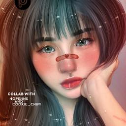 freetoedit kpop bts ullzanggirl artwork