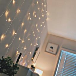 aesthetic lights sparkles aestheticroom room fairylights myroom freetoedit