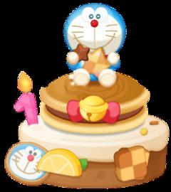 freetoedit doraemon happybirthday cake cookies