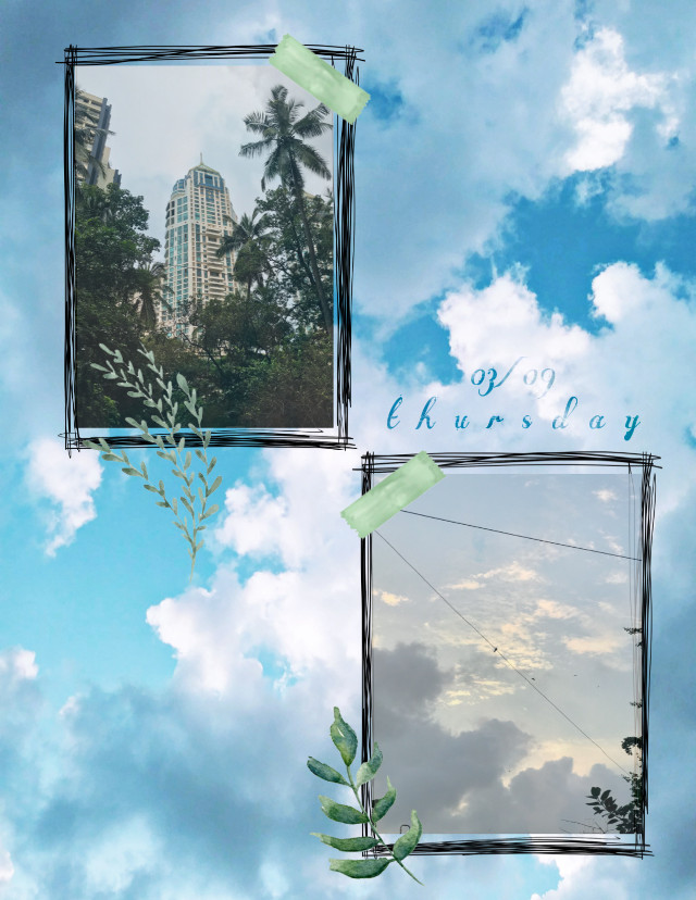 Evening walk #interesting #sky #skybackground #sticker #aesthetic #aesthetics #greenaesthetic #greenaesthetic #frame #framesticker #frames