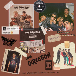 collage 1d 10yearsof1d onedirection onedirectionedit onedirection2020 onedirectionwallpaper harrystyles scrapbooking