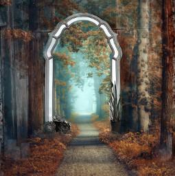 forest mirror miraculum ircinthemirror inthemirror freetoedit