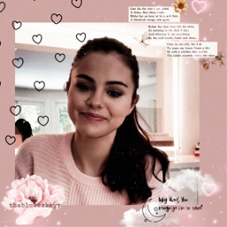 freetoedit replay selenagomez selenator rare heart love doodle sticker aesthetic vintage pink aestheticpink flower aestheticflower fotoedit quotes moon star clouds