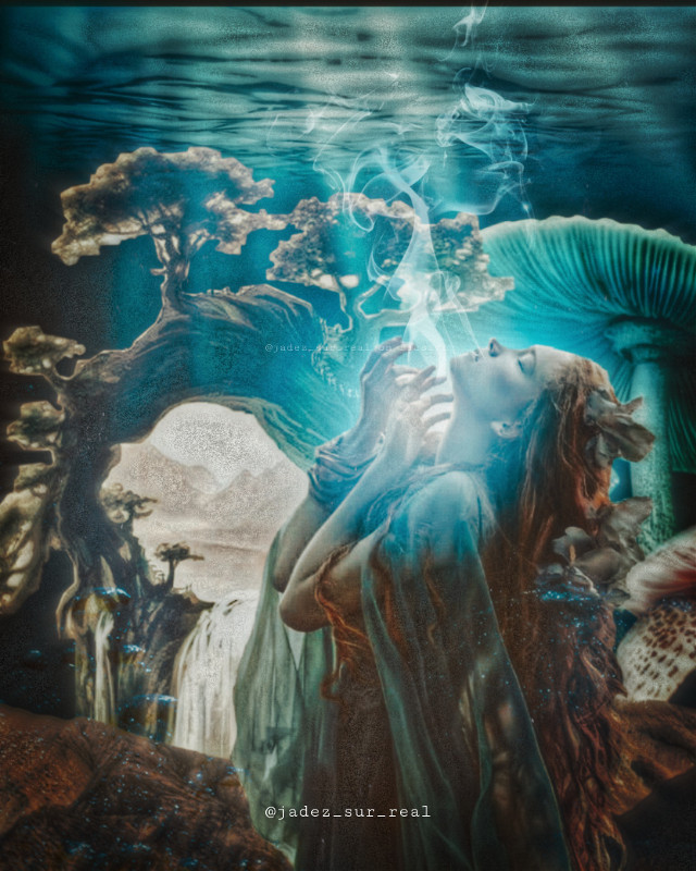 U N D E R W A T E R    F O R E S T • • • png of girl: @/diversepng on Instagram #freetoedit #underwater #water #ocean #girl #mermaid #visualart #visualartist #papicks #heypicsart #be_creative #madwithpicsart #stayinspired #createfromhome #picsartedit #myedit #space #galaxy #galaxyedit #magic #magical #surreal #surrealism #aesthetic #nature