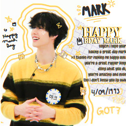 the mark marktuan got7 happymarkday happymarktuanday happybdaymark kpop kpopedit