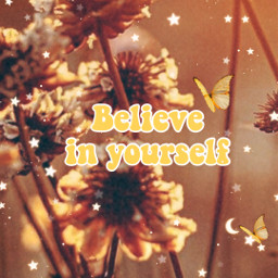 art believeinyourself aesthetic yellowart flowers aestheticart freetoedit butterflies starsandsparkles fyp