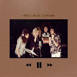 queen queenband 70s rocknroll vintage retro music freddiemercury brianmay rogertaylor johndeacon freetoedit