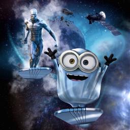 marvel universal silversurfer norrinradd minions freetoedit