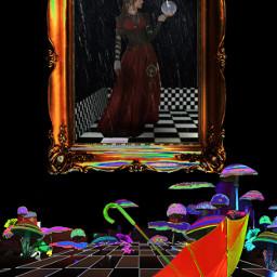freetoedit mastershoutout psychadelic surreal srcyellowumbrella