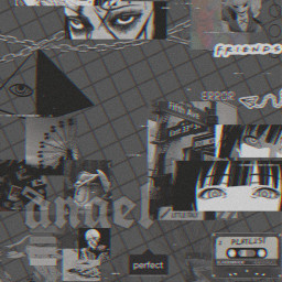 freetoedit black aesthetic blackaesthetic tomie kakegurui jamabi yumeko wallpaper anime animeedit animeaesthetic vhs vhsedit vhsaesthetic angel