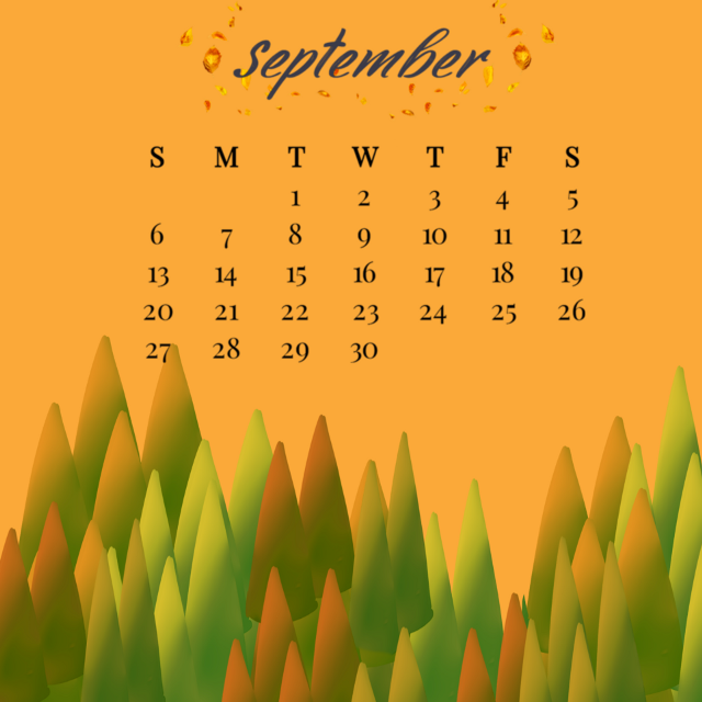 #calender #september #autumn #fallleaves #autummcolors #watercolors #squarefit #picsarteffects #heypicsart #keepitsimple #myedit #madewithpicsart