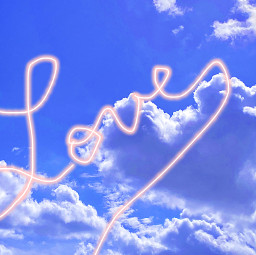 clouds loveyou beautiful artistic creative freetoedit