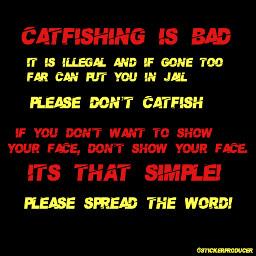 stickerproducer catfish catfishing bad crime