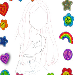 linearts draw art popular freetoedit
