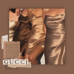 replay remix remixit aesthetic glam gucci tumblr dress beige brown edit vintage