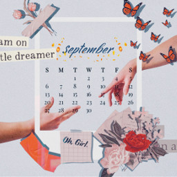 reachout hands september calendar bulletjournalvibes journalvibes srcseptembercalendar septembercalendar freetoedit