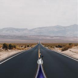 zipper galaxy road ftestickers madewithpicsart remixed remixit