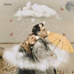 yellowumbrella yellowumbrellas yellow love truelove rain rainy rainyday rainydays freetoedit