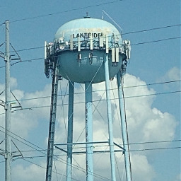 water tower watertower lakeside ftworth freetoedit