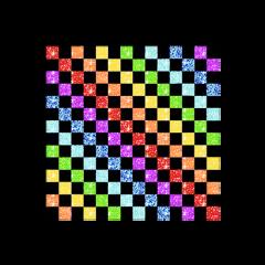 kidcore glitchcore edit complex background aesthetic checkers rainbow glitter sparkle cute freetoedit