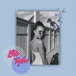 replay remix remixit blue edit aesthetic tumblr glam pink butterfly blackandwhite freetoedit