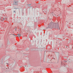 freetoedit sailormoon pink anime soft cute aesthetic