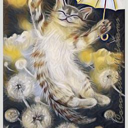 happyday srcyellowumbrella yellowumbrella flydream freetoedit