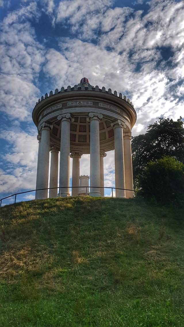 #freetoedit #architecture #travel #photography  #munich #hdr #englischergarten