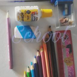 school backschool goschool materialescolar pencil pencils colorpencil color colors pen pens schoolsupplies