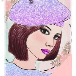 freetoedit portrait outline illustration creative