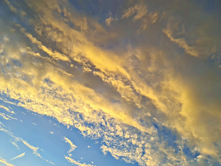 #sky #clouds #sunset #sunshine #naturephotography  #freetoedit
