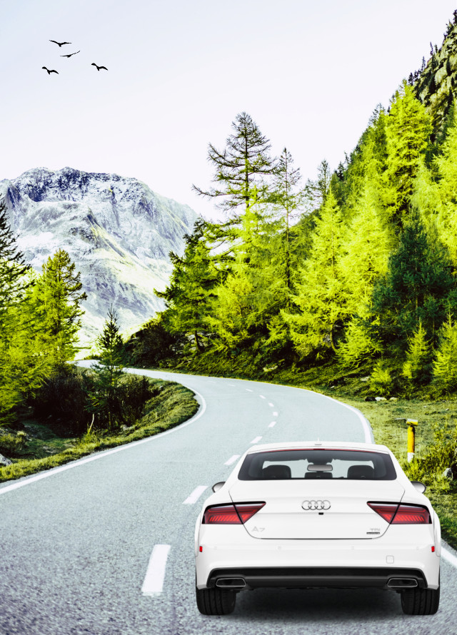 #myedit #travel #road #outdoors #car
