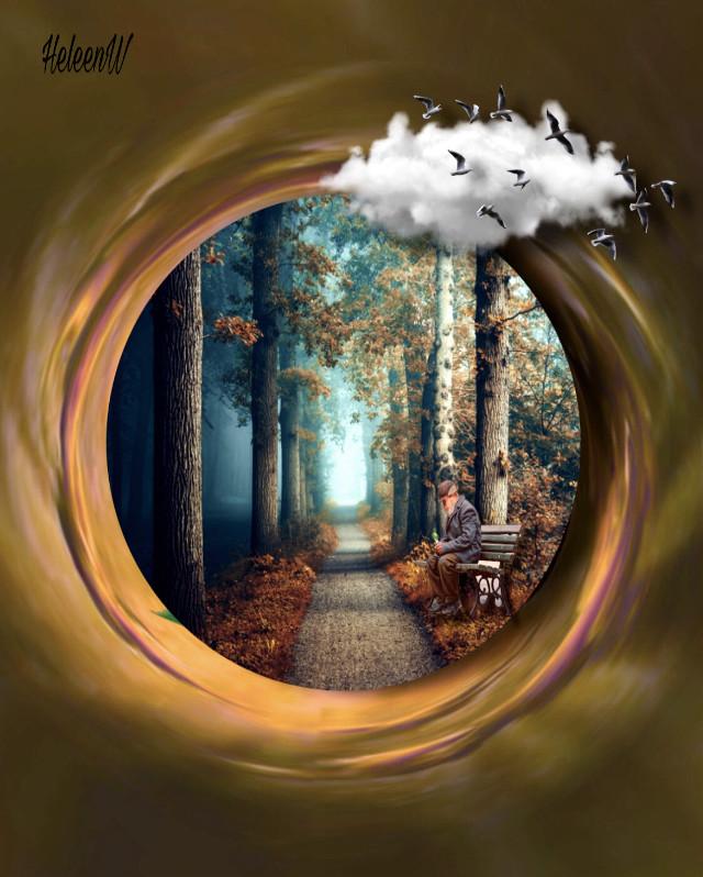 𝑨𝒖𝒕𝒖𝒎𝒏 𝒊𝒔 𝒄𝒐𝒎𝒊𝒏𝒈 #heypicsart #leaves #autumn #september #editedbyme #surreal #fantasy #imagination #tinyplaneteffect #madewithpicsart #creative #diversity #forest #interesting #freetoedit