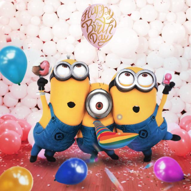 @dulce56184 Parcerita!! Seguimos felices de estar contentos!! 😄Que la este pasando genial!! Y que vengan muchos más!!🎁🙌🏽😊😊🎇🎉🎊🎉🎊🎊 🍫🍓 abrazós!!🌟🌺🌺🌺🎇💓                                #happy #minions #ballons #birthday