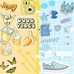pastel blie yellow pastelyellow pastelblue cute pretty freetoedit