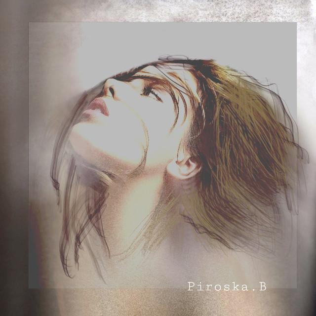 #photomanipulation #faceart #womanportrait #artisticportrait #myedit  #madebyme #myart #editedwithpicsart #picsarttools @piroskab