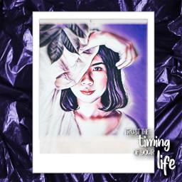 yup_sup babypanda girl purple aesthetic picture pic freetoedit
