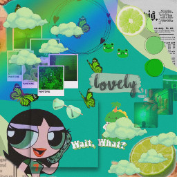 buttercup girls green aestheticollage collage aesthetic clouds pantone fridaylatenight butterflies gaintrick discoverpage search freetoedit ppg powerpuffgirls opacityfade greenshades mature girlsrule discoverme featureme saturationeffect artistic adjustbeautymode