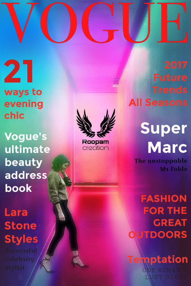#coverpage #magzinecover #neonbackground #gir