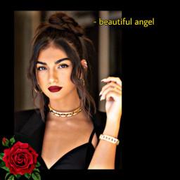 beautiful angel queen👑 elisamaino elisa maino freetoedit queen