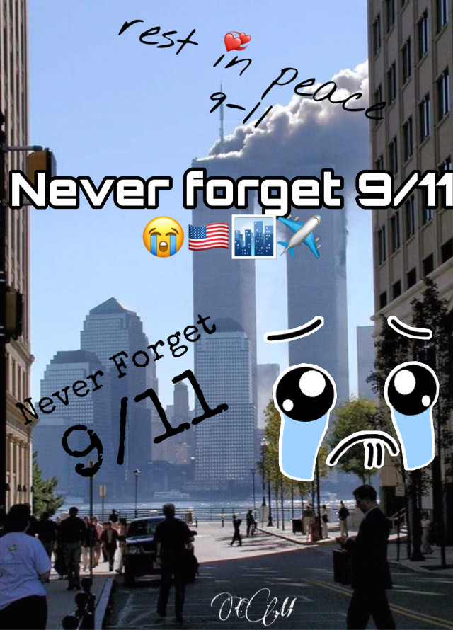 NEVER FORGET 9/11!! Nineteen years ago today, back in September 11th 2001, 4 planes got hijacked. Flight 175 and Flight 11 crashed into the North and South towers of The World Trade Center in New York City. Flight 77 crashed into the Pentagon in Arlington Virginia. And Flight 93 crashed into a field in Shanksville Pennsylvania. I wasnt born in 2001, I was born in 2006. But still never forget 9/11. 2,977 people died on this day and 6,000 people were injured. There were 19 hijackers. 5 hijackers on Flights 175, 11, and 77. And there was 4 hijackers on Flight 93. Rest in peace to the passengers and crew on these planes. The hijackers are so evil! Killing Americans! Thats not right at all. Never ever forget 9/11 🇺🇸✈️🏙😭 #september112001 #neverforget911 #september11 #2001 #worldtradecenter #pentagon #field #newyorkcity #virginia #pennsylvania #restinpeace #flight175 #flight11 #flight77 #flight93