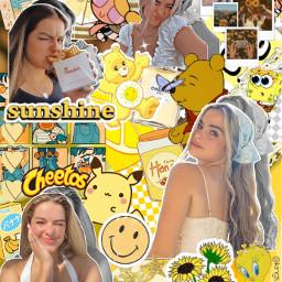 addisonrae addison addisoneasterling tiktok tiktoker hypehouse wap aesthetic yellow freetoedit