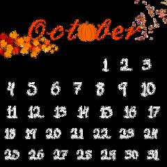 october fall calendar fallingleaves octobervibes octobercalendar 2020 falloutfit calender2020 calenderchallange followme followforfollow likesforlikes dmme freetoedit