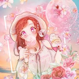 freetoedit pastel anime animegirl animeedit