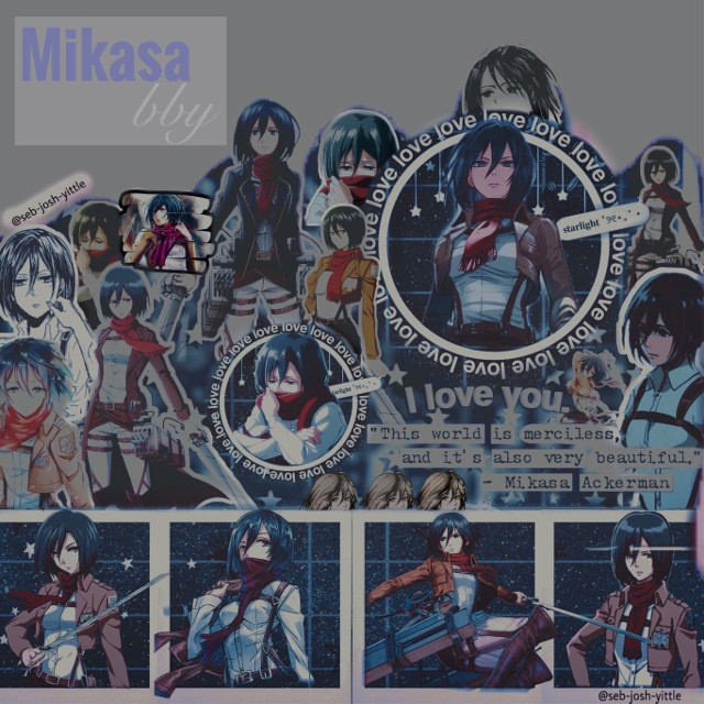 "...    I feel like this isn't the greatest BUT WHATEVER IT'S FINE IMA KEEP IT😌  ✨person✨: Mikasa Ackerman  ✨colors✨: blue, white, red, purple  ✨band/fandom✨: Attack On Titan  ✨current favorite song✨: Don't Feel Quite Right - Palaye Royale   🖤𝘁𝗮𝗴𝗹𝗶𝘀𝘁🖤  @scarletwitch4life @sqlftitlqd- @winterbxlle-  🤍🖤🤍🖤🤍 comment ""me"" to be added to the taglist! And then just ask if you want to be removed!  #mikasa #mikasaackerman #attackontitan #aot"