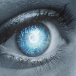 picsart imageedit light eye magic aura blueeye imagineworld freetoedit