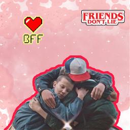 strangerthings❤ bestfriendforever😊❤ freetoedit strangerthings bestfriendforever