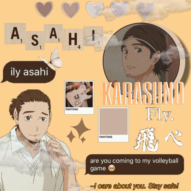 #asahi #asahiazumane #haikyuu #anime #karasuno #weeb