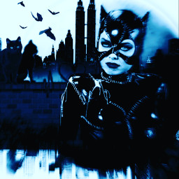freetoedit picsart remixed remixit myedit photoedit photomanipulation digitalart digitaledit madewithpicsart editedbyme editedwithpicsart surrealism magic fantasy stayinspired picsarteffects unsplash pexels shutterstock pastickers catwoman gotham dccomics