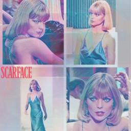 beautiful smokinghot scarface michellepfeiffer actress classic freetoedit
